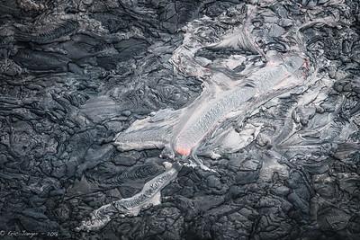 Lava Breakout, Volcanos NP