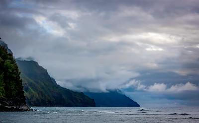 Clouds, Na Pali Coast