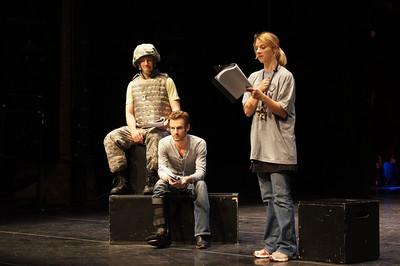"left to right: Nicholas Pelczar, Patrick Alparone, Arwen Anderson in ""Gold Star"""
