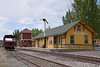 Southern Pacific Wabuska Depot<br /> Relocated from the Mason valley after closure in 1979 and donated to Nevada State Museum, Carson City. NV. It was finally moved to its present site in 1983 and completely refurbished.<br /> <br /> 8 May 2014