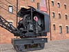 7.5 ton Steam crane built by Joseph Booth at Leeds in 1944<br /> <br /> Preserved on the quayside at Gloucester Waterways Museum<br /> <br /> 27 September 2013