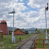 A general view from Drummond Depot across Fort Missoula Historical Centre<br /> <br /> 17  May 2014