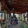 Saw Mill powered by 80hp Case steam traction engine made in 1916 <br /> <br /> Fort Missoula Historical Museum<br /> <br /> 17  May 2014