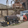 An H.K.Porter built 0-4-0 compressed air loco<br /> <br /> Museum of Mining,  Butte<br /> <br /> 16 May 2014