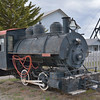 Anaconda Copper 0-4-0 No.122  built by Davenport in 1916 as  No.1555  on static display at the Museum of Mining, Butte. MT.<br /> <br /> 16 May 2014