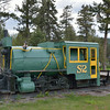 Somers Lumber (GN) S-2 0-4-0F<br /> <br /> on display across from the post office, Somers, MT<br /> <br /> 17  May 2014