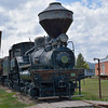 Willamette locomotive, No 7 built in 1923,  used by the Anaconda Copper Company<br /> <br /> Fort Missoula Historical Centre<br /> <br /> 17  May 2014