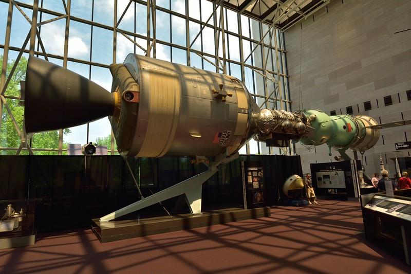 Apollo-Soyuz capsules