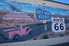 Get your kicks -<br /> Route 66, <br /> Tucumcari, New Mexico