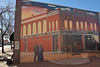 Corbin & Sanders Department store - now only a mural in <br /> Delta on Colorado Highway 50