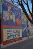 The town of Delta on Colorado Highway 50 hosts a number of interesting murals on some of its old buildings <br /> This one pays tribute to the areas' fruit growers.