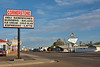 Originally the main highway, Route 66 ran through Tucumcari, New Mexico