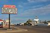 Originally the main highway, Route 66 ran through Tucumcari, New Mexico