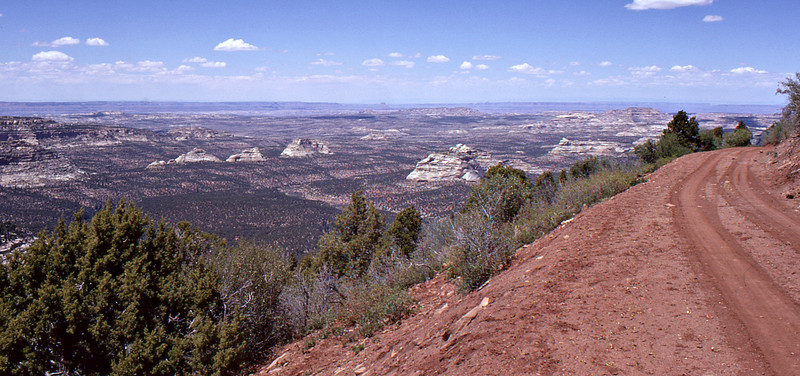 Panorama of Area and Road to North Long Point