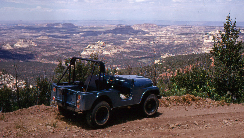 One of many jeeps I've driven up here.