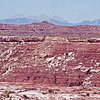 Telephoto of the La Sal Mountains