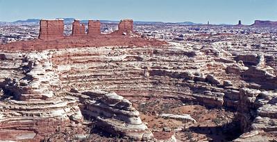 Glen Canyon National Recreation Area, Utah: The Maze,Chocolate Drops
