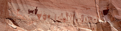Horseshoe Canyon: The Great Gallery, Utah