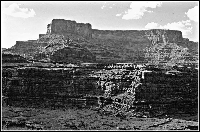 I believe that to be Dead Horse Point. Look really, really carefully, is there a structure on top?