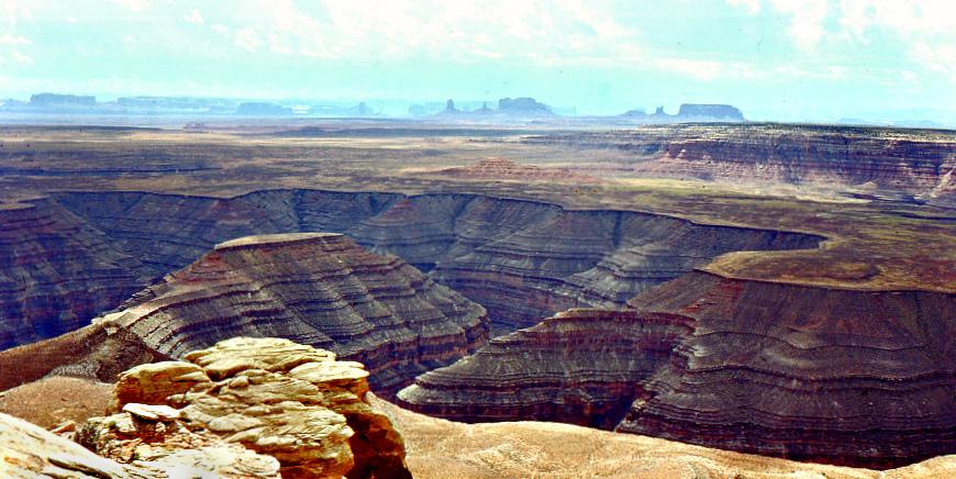 1975Sept: Muley Point, Utah