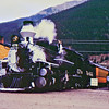 Tourist train at Silverton, CO.