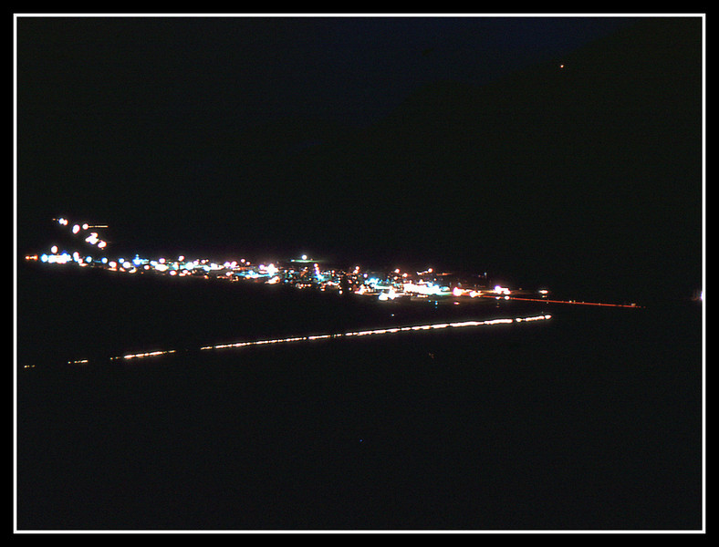 Night photo.