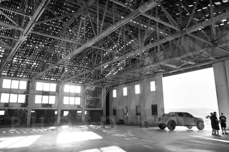 Tonopah Test Range Airport historic WWII hangar