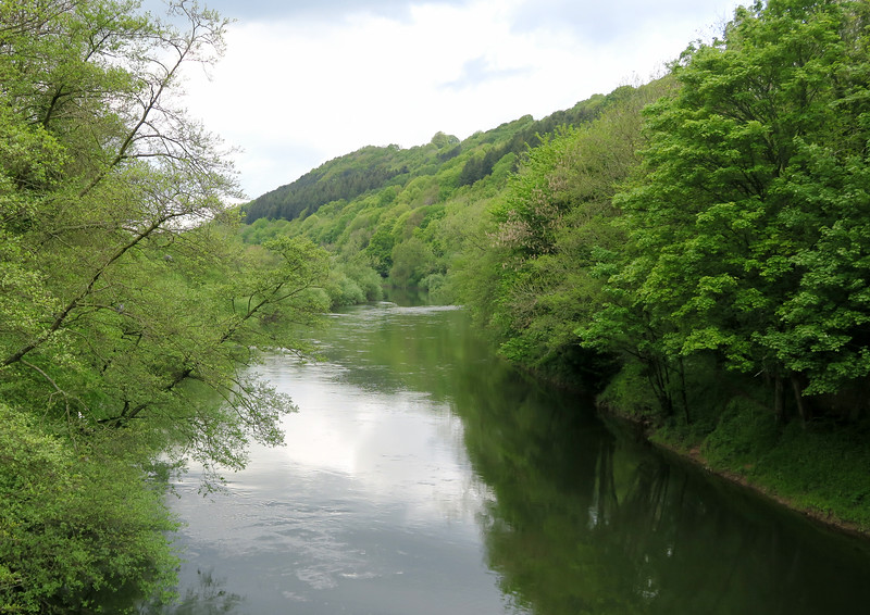 A shot downstream.