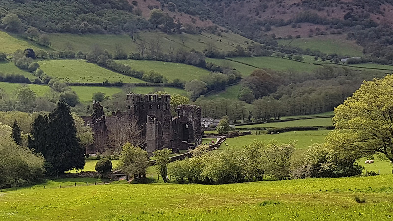 The remains of Llanthony Priory