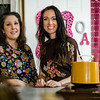 Michelle Biscotti and Marguerite McGrail, co-owners of Offbeat Avenue, a new vintage boutique located at 139 Central Street in Leominster. SENTINEL & ENTERPRISE / Ashley Green