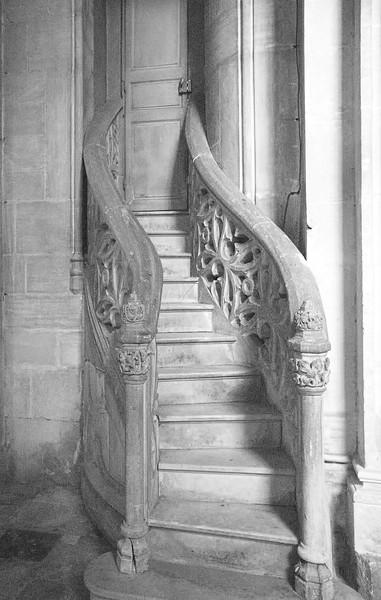 12th Century Stone Stairs