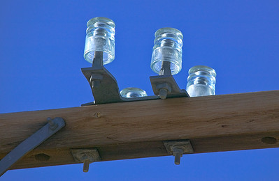 Vintage Glass Insulators