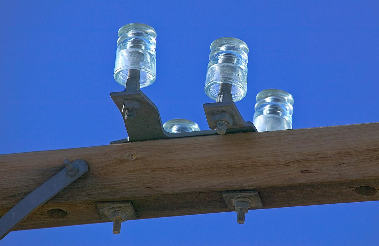 Vintage Glass Insulators