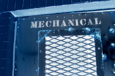 Mechanical Room Door