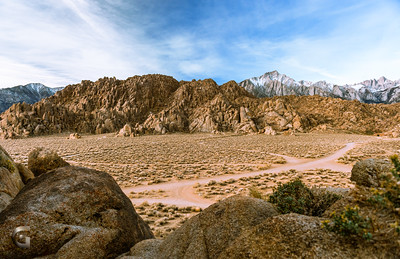 Morning in Alabama Hills