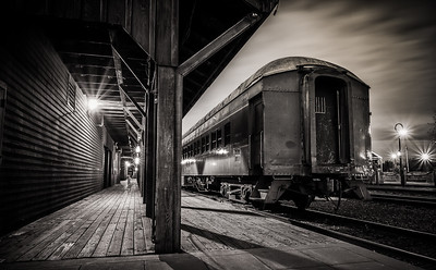 Sacramento Railroad Car