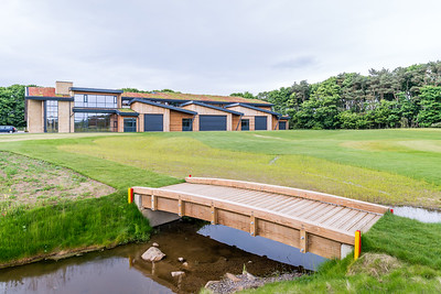 R&A test centre interior photography, St Andrews