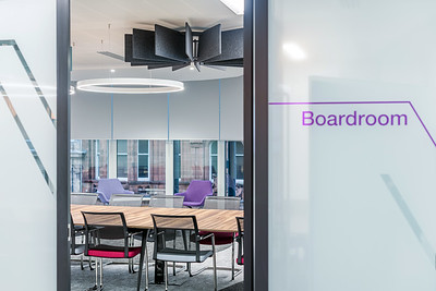Interior architectural photography of RSA offices in Glasgow