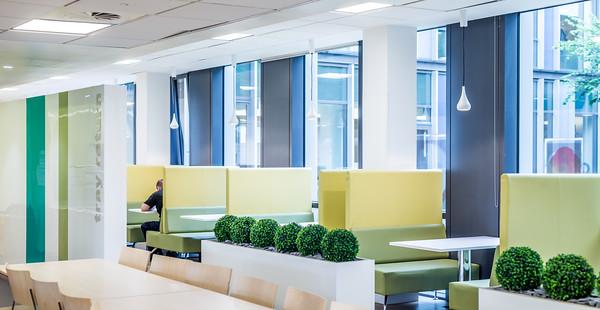 Tesco Bank Headquarters, Edinburgh - interior photography