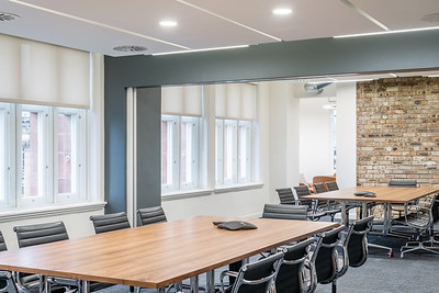 UBS offices, St Andrew Square - interior architectural photography