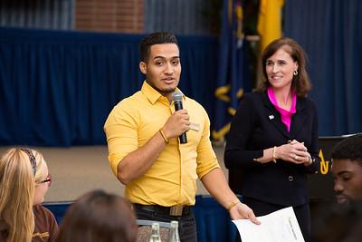 Student Dialogue with President Riordan - October 21, 2015