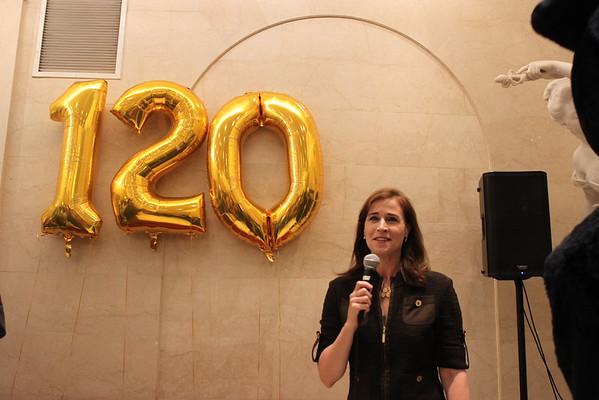 Adelphi's 120th Birthday Event