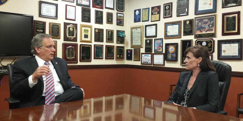 8/19/15 - Nassau County Executive Edward P. Mangano