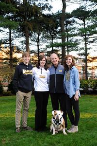 President Riordan and Family