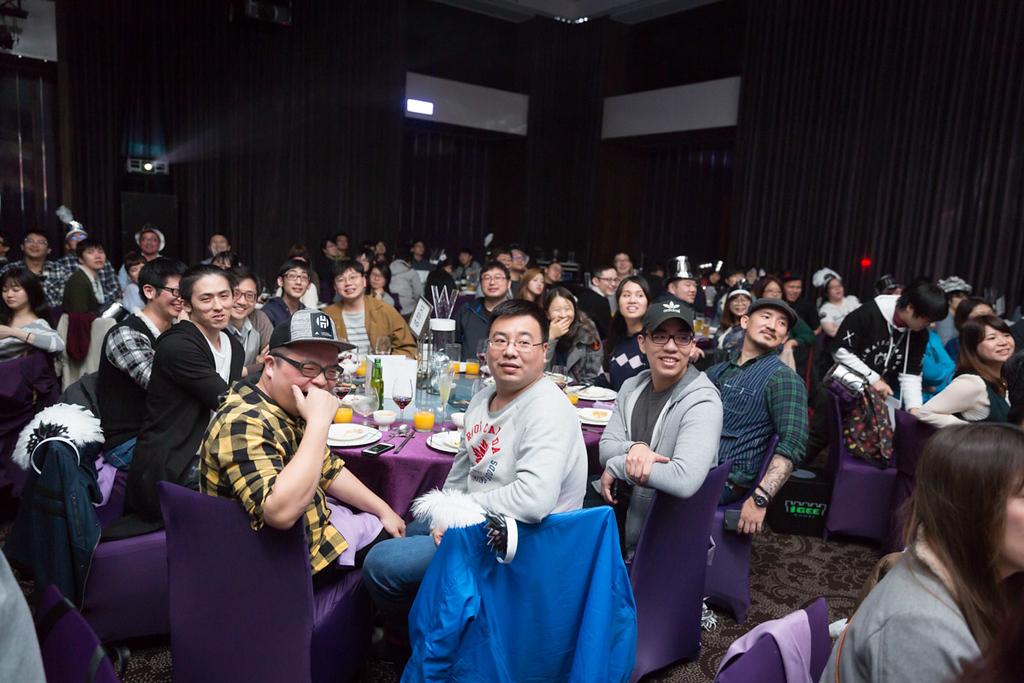 《台北活動尾牙紀錄》科技風格尾牙 / 台北W飯店