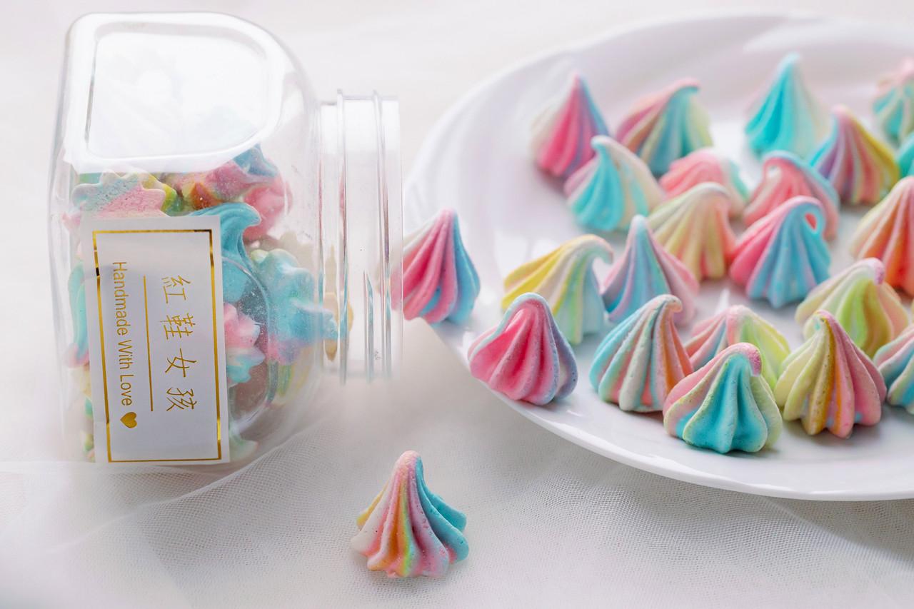 《美食甜點飲品攝影》彩虹甜點馬林糖 / 攝影師工作室