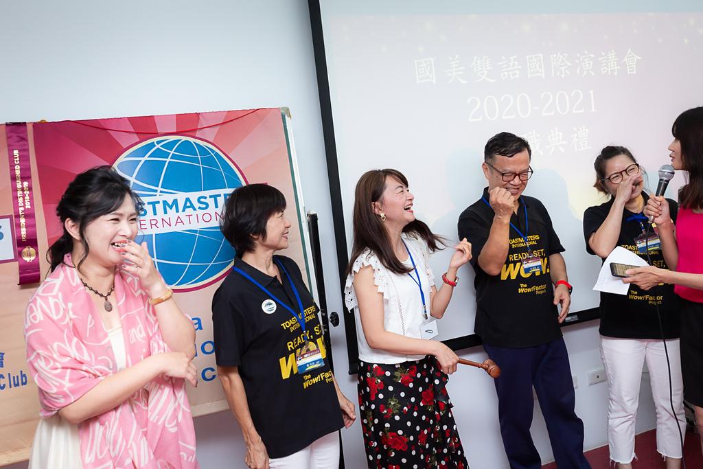 《社團活動尾牙》國美雙語國際演講會2020幹部交接典禮 / 台中紀錄