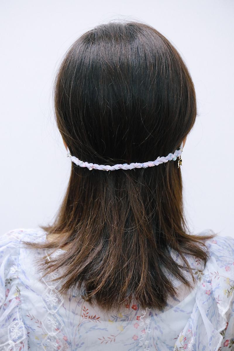 《口罩減壓帶》三花貓手作花飾口罩掛繩 / pinkoi口罩戴法口罩支架哪裡買購買