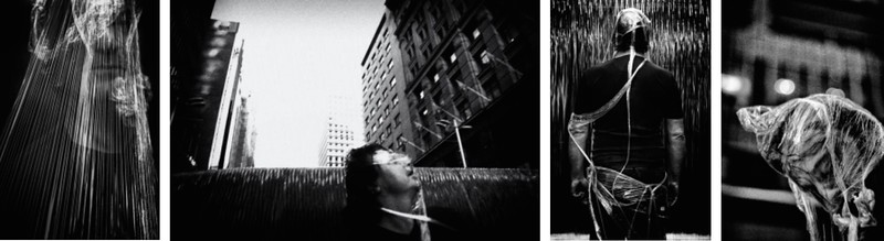 Photographs by ASHER MILGATE of Johannes S. Sistermann Performance at Martin Place, Sydney, 2010 will be shown at BackStage