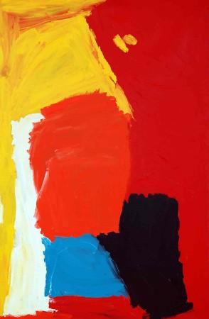 Sally Gabori,  2500-L-SG-0807, 2009, Acrylic on canvas, 183 x 120 cm
